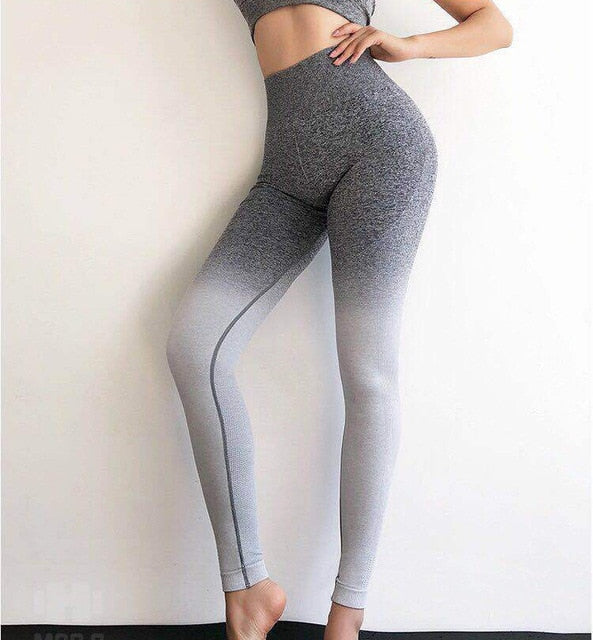OMBRE Seamless High Waist Leggings