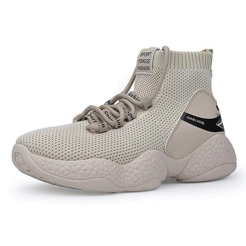 Special Hype SHARK V2.0 SNEAKERS Affordable Hype Clothing Brand Beige / 39