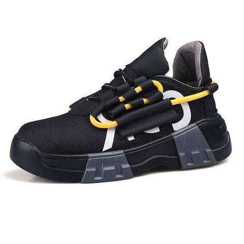 Special Hype SPIRAL SNEAKERS Affordable Hype Clothing Brand Black / 38