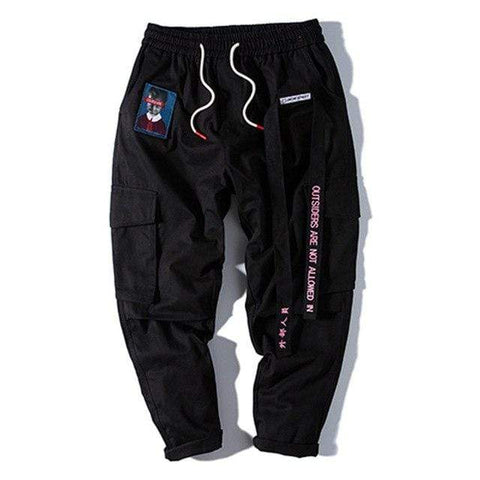 Special Hype NOT ALLOWED PANTS | 3 COLORS Affordable Hype Clothing Brand Black / M