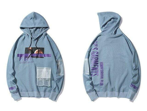 Special Hype MARS HOODIE Affordable Hype Clothing Brand Blue / L