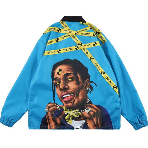 Special Hype ASAP JACKET Affordable Hype Clothing Brand Blue / M