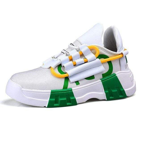 Special Hype SPIRAL SNEAKERS Affordable Hype Clothing Brand Green / 38