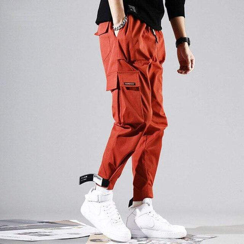 Special Hype SUBSCRIBE PANTS Affordable Hype Clothing Brand Orange / S