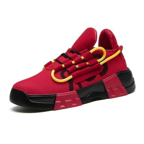 Special Hype SPIRAL SNEAKERS Affordable Hype Clothing Brand Red / 38