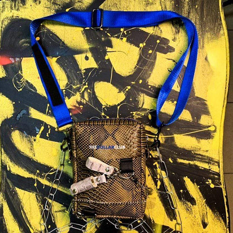 "Special Hype TDC BROWN ""COBRA PLEASURE"" BAG Affordable Hype Clothing Brand"