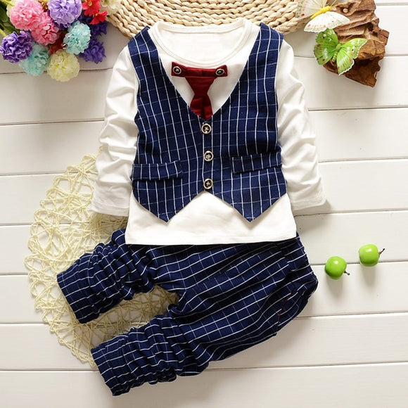 Fancy Gentlemen Business Baby Outfit