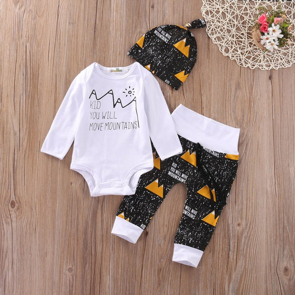 Adventure Mountains Themed Baby Outfit