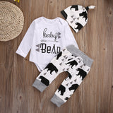 White Baby Bear Outfit