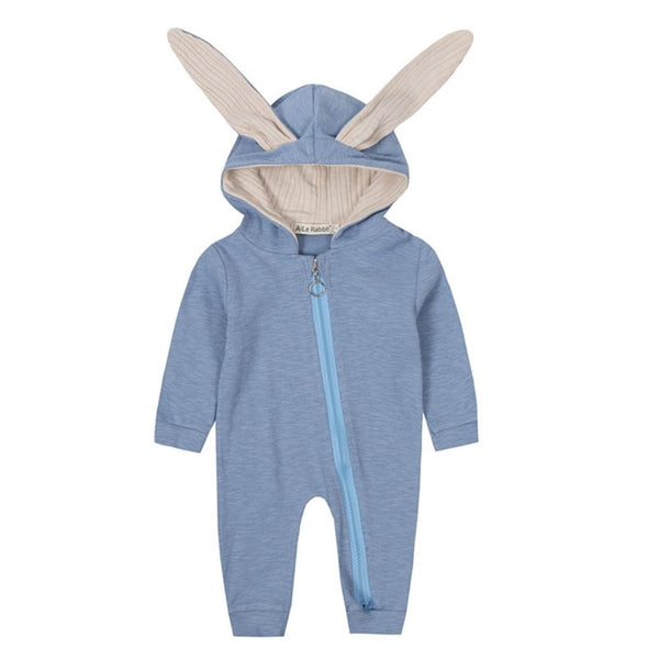 Bunny Rabbit Themed Baby Romper