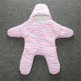 Colorful Chevron Starfish Sleepsack