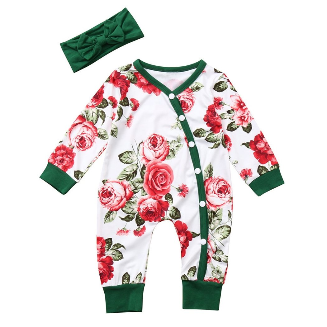 newborn floral romper in fuchsia raspberry pink mustard yellow green and grey teal blush Vivacious Bouquet RTS dusty blue