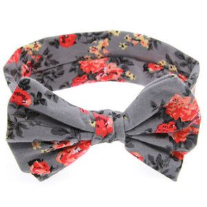 Newborn Butterfly Bow Baby Headband