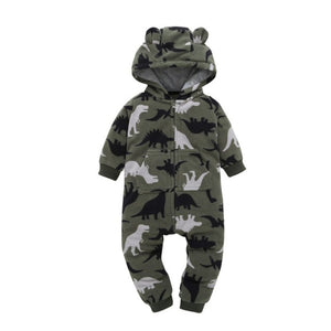 T-Rex Dinosaurs Baby Romper