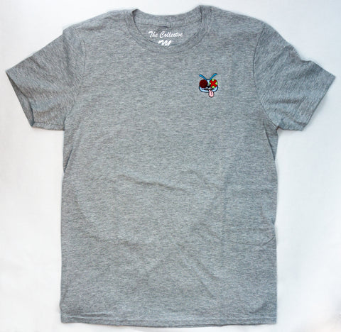 The Fly Tee in Grey