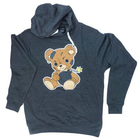 Teddy Bomb in Heather Black