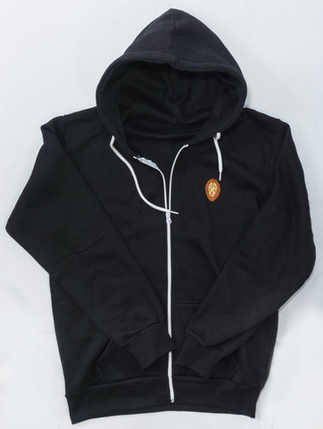 The King Zip Up Hoodie