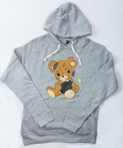 Teddy Bomb in Grey