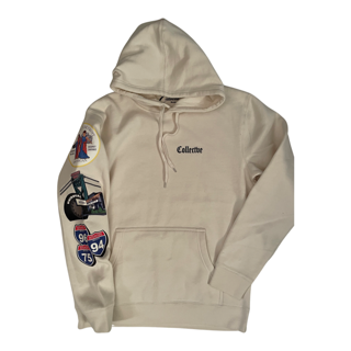 Old English Hoodie Cream