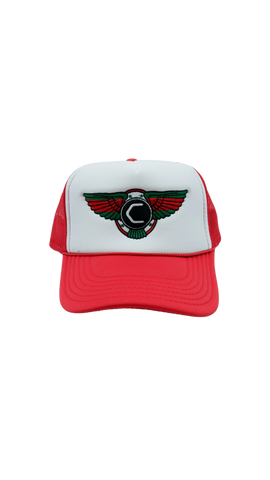 Cannon x Collectve Trucker - Red