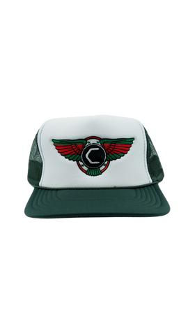 Cannon x Collectve Trucker - Green