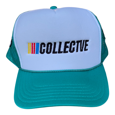 Cup Series Trucker Hat - Teal