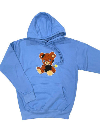 Teddy Bomb Chenille Hoodie