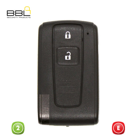 KEY SHELLS TOYOTA SHAPE 2 BUTTON