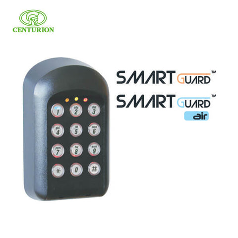 CENTURION Keypad Black Smart Guard