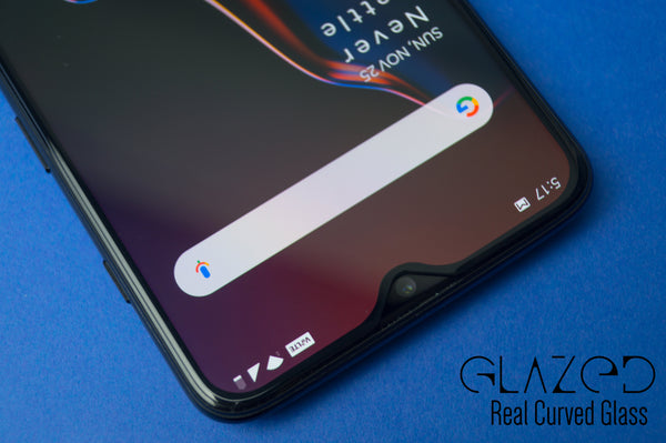 OnePlus 7T Real Curved Edge to Edge Full Glue Tempered Glass - GlazedInc