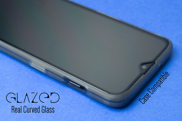 Realme 3 Pro Real Curved Full Glue Tempered Glass