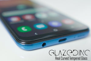 Samsun Galaxy A70S Real Curved Full Glue Edge to Edge Glass