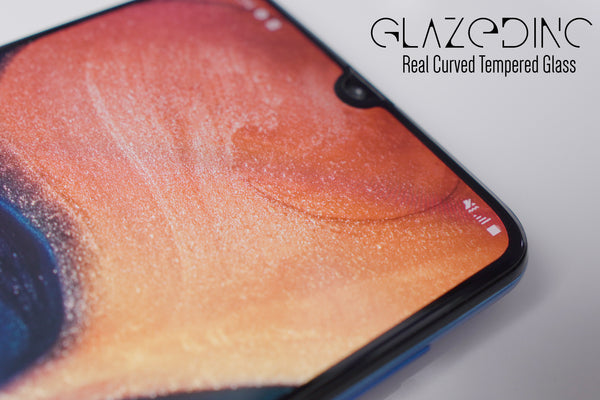 Samsung Galaxy A50S/M30S Real Curved Full Glue Edge to Edge Glass