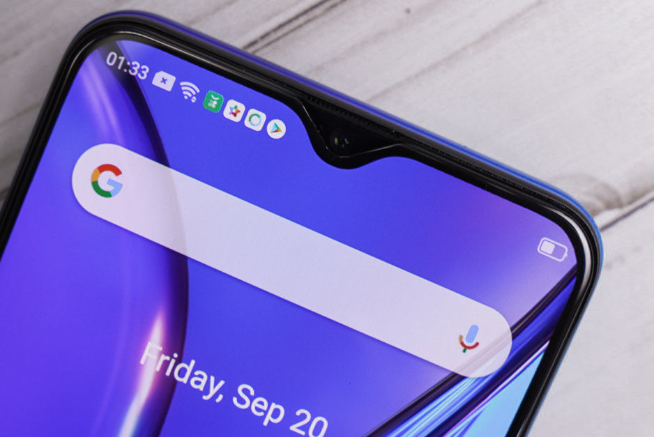 Realme 5 Real Curved 2.5D Tempered Glass