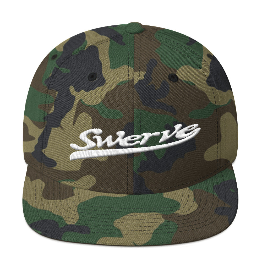 Swerve Snapback Hat-Good Vibrations Clothing Company