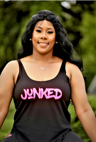"""JUNKED"" Active Tank Top"