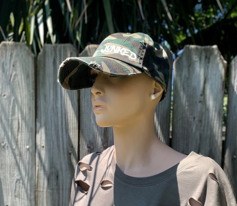 """Camo Fitted"" Cap"