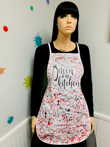"""Queen Of Kitchen"" Apron"