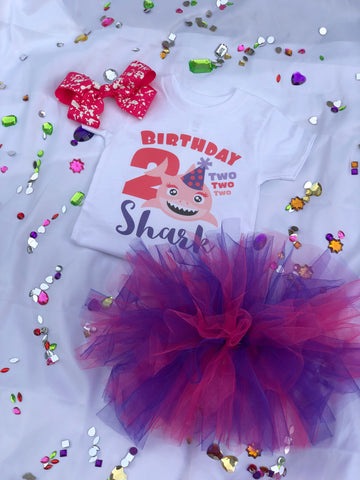 """Birthday Girl Package"" Baby Shark"