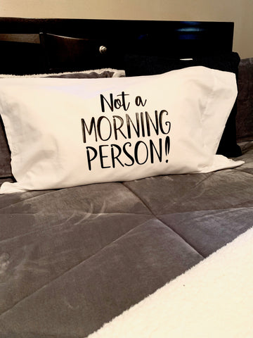 """Not A Morning Person"" Cover"