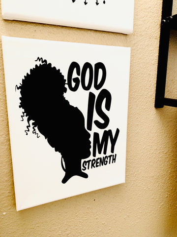 """God Is My Strength"""