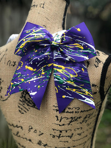 """Bacchus"" Hair Bow"