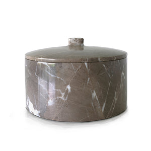 Marble Pot with Cover