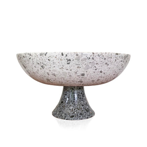 Black and White Terrazzo Bowl - KONSTANTIN