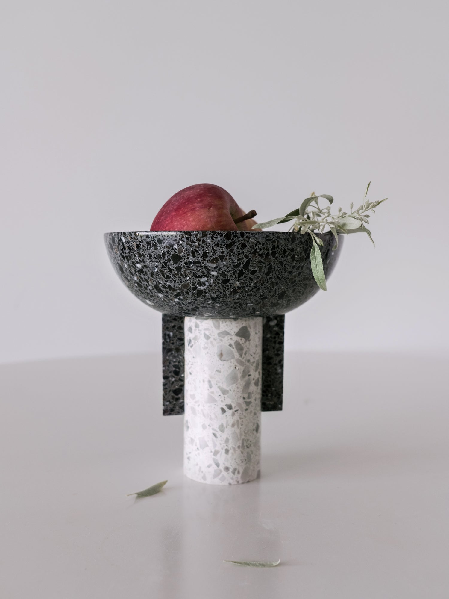 Terrazzo Footed Bowl