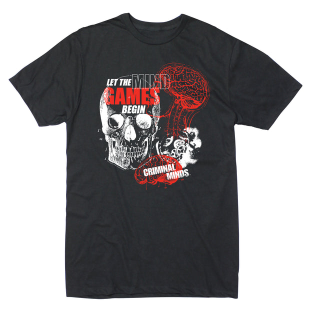 Criminal Minds Criminal Mind Games Adult Short Sleeve T-Shirt | Official CBS Entertainment Store