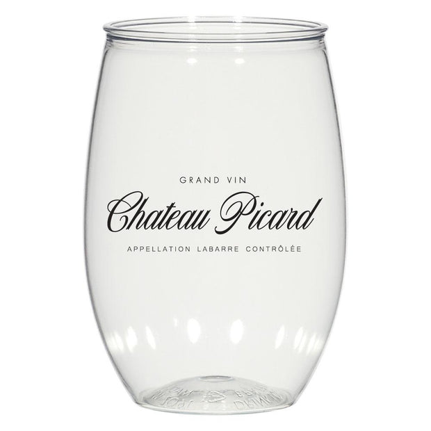 Star Trek: Picard Chateau Picard Acrylic Wine Glass Set of 2 | Official CBS Entertainment Store
