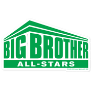 Big Brother All-Stars Logo Die Cut Sticker Bundle | Official CBS Entertainment Store
