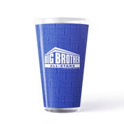 Big Brother All-Stars Logo Pattern 17 oz Pint Glass | Official CBS Entertainment Store