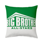 "Big Brother All-Stars Color Block Logo 16"" x 16"" Throw Pillow 